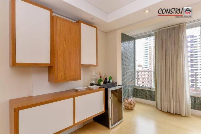 Apartamento com 3 dormitórios à venda, 143 m² por r$ 798.000,00 - batel - curitiba/pr - Foto 6
