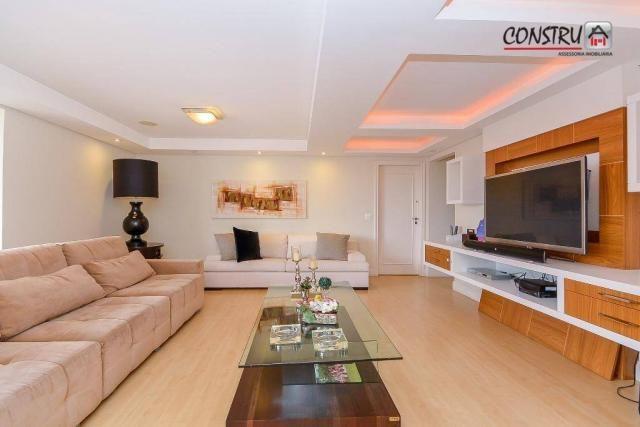 Apartamento com 3 dormitórios à venda, 143 m² por r$ 798.000,00 - batel - curitiba/pr - Foto 2
