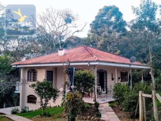 Ch0308 - mandirituba chácara 10.000 m² antes do pedágio com ótima casa