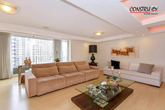 Apartamento com 3 dormitórios à venda, 143 m² por r$ 798.000,00 - batel - curitiba/pr - Foto 3