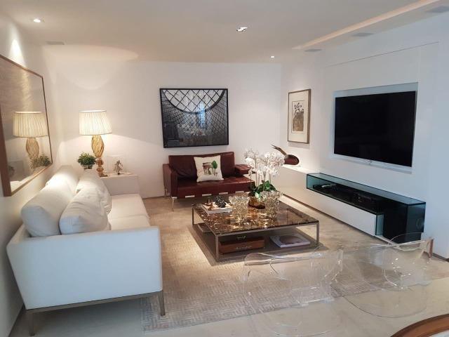 Apartamento Lumno 4 Suítes 276m2 Alto 4 vagas Decorado Nascente linda vista mar - Foto 3