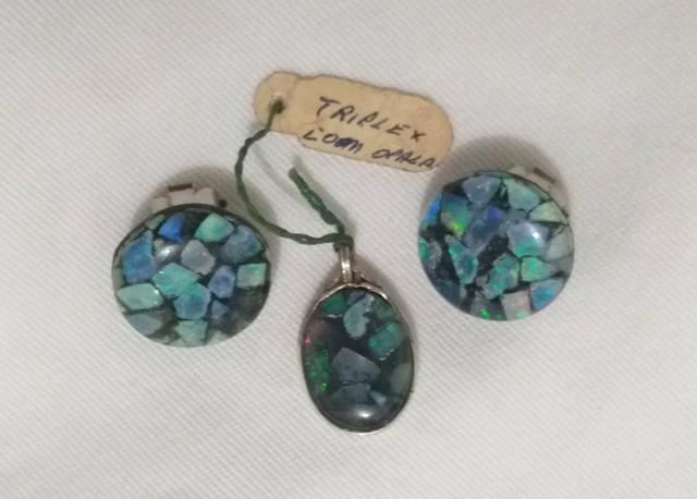 Conjunto Triplex de Opalas - Foto 4