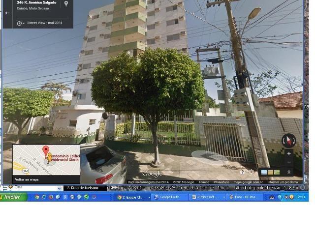 Apartamento Edifício Glória, reformado, Bairro Lixeira. Cuiabá-MT - Foto 2
