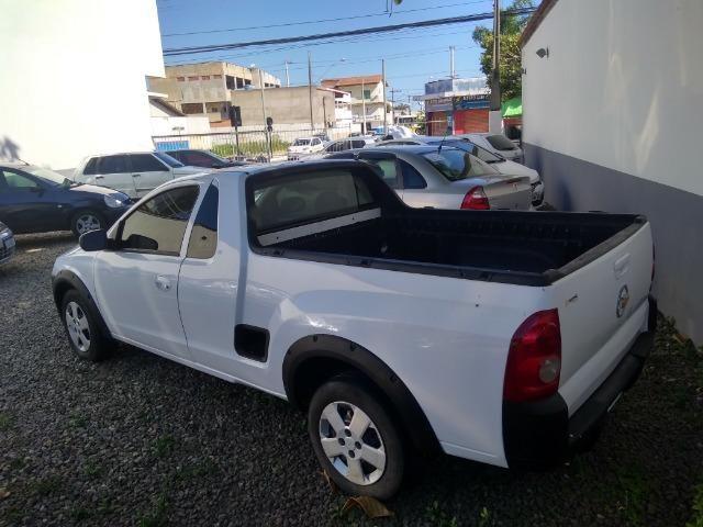 Chevrolet Montana Branca Conquest 1.8 06/06 Linda! - Foto 4