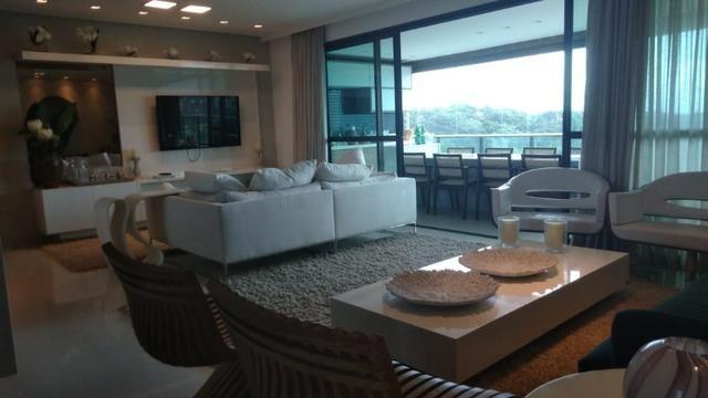 Apartamento em altíssimo padrão 4 suítes 182m² 3 vagas na reserva do paiva confira - Foto 3