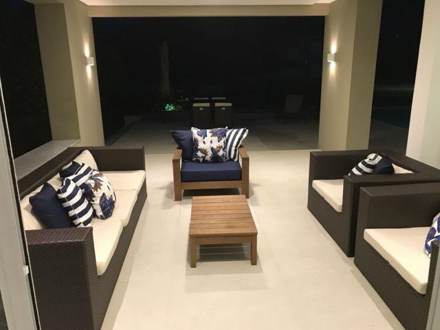 Luxuosa casa duplex com decoração e mobília completa conheça o projeto na integra paiva - Foto 16