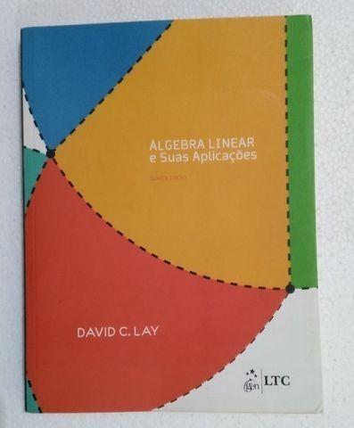 Álgebra Linear E Suas Aplicações - 4ª Ed. David C. Lay - Foto 3