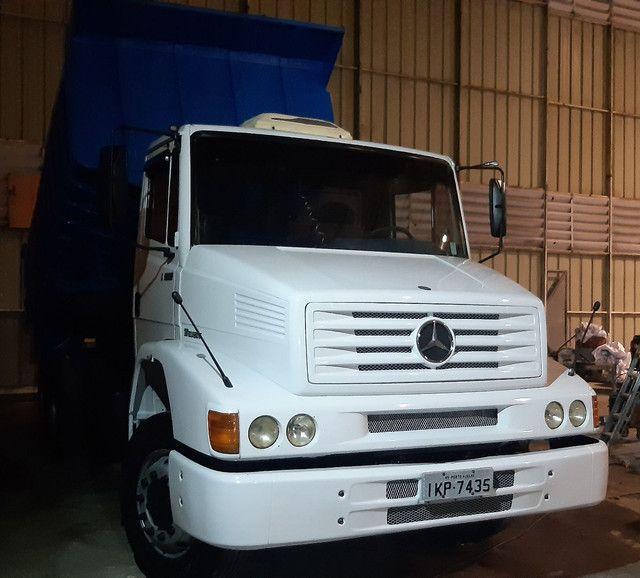 M. Benz 1620 2002 truck caçamba impecável  - Foto 2