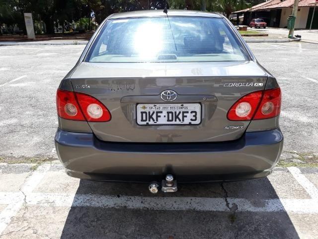 Toyota/Corolla XLI16VVT - 2004/2005 - Cinza - Foto 3