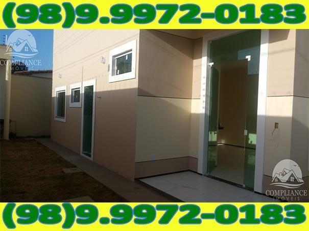 4I1Excelente Casa Nova Com Dois Quartos No Altos Do Turu - Foto 4