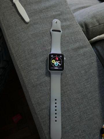 Relógio Apple Watch série 3 prata