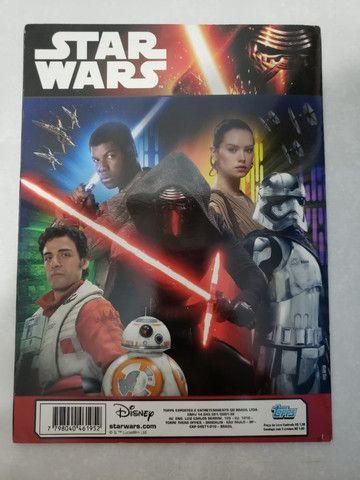 Álbum De Figurinha Star Wars Despertar Da Força - Foto 3