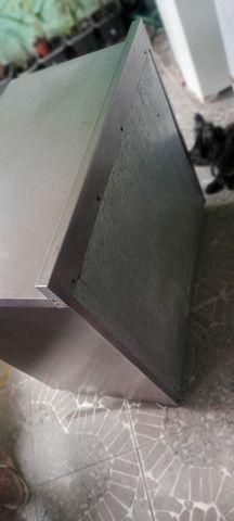 Balcão industrial revestido de inox  - Foto 6