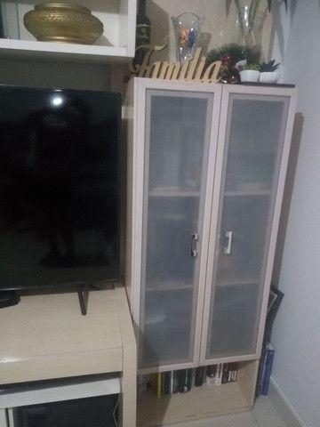 Vendo rack estante  com vários compartimentos, usado - Foto 3