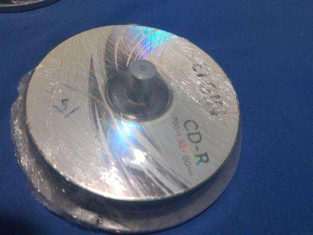 Mídias DVD, Blu ray e CD graváveis - Foto 2
