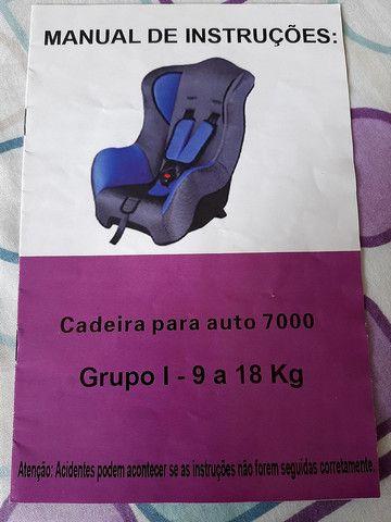 Cadeirinha para auto Baby Style, 9 a 18Kg - Foto 5