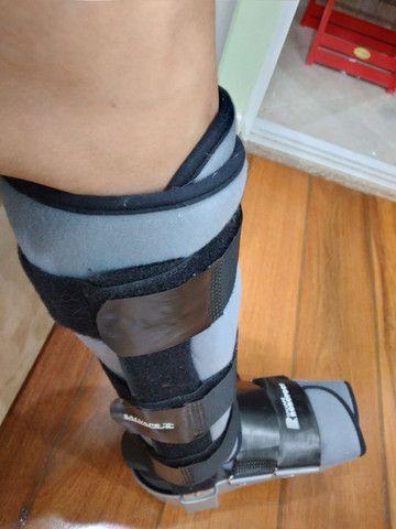 Bota ortopédica robofoot salvapé usada (robocop)