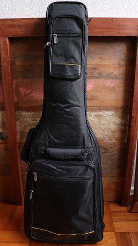Kit Guitarra Ibanez ART120 Les Paul + Bag Premium + Cabo + Correia Planet Waves - Foto 6