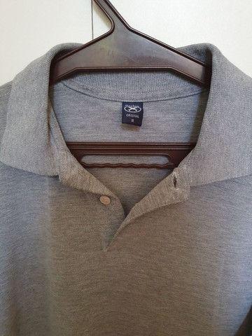 Camisa polo cinza - Foto 2