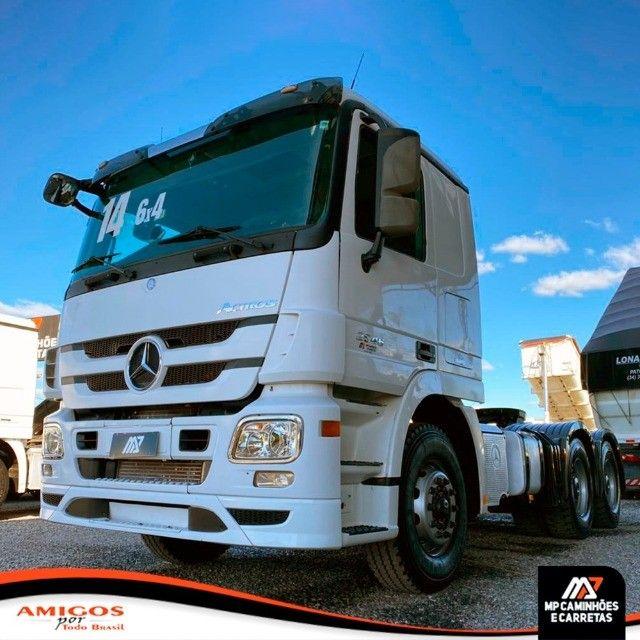 Cavalo Mecânico Mercedes-benz Actros 2646 6x4 2014 - Foto 6
