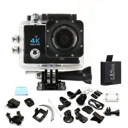 Action Câmera Digital Sport 4k 1080p Case A Prova Dágua Wifi - Foto 3