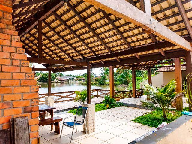 Casa Cond. Lago Azul - Beira do lago - Foto 19