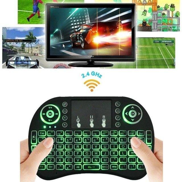 Mini teclado controle S/fio com touch (Promoção) NOVO