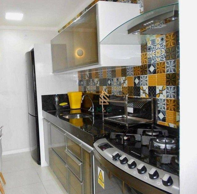 Apartamento com 3 dormitórios à venda, 115 m² por R$ 1.200.000,00 - Porto das Dunas - Aqui - Foto 7