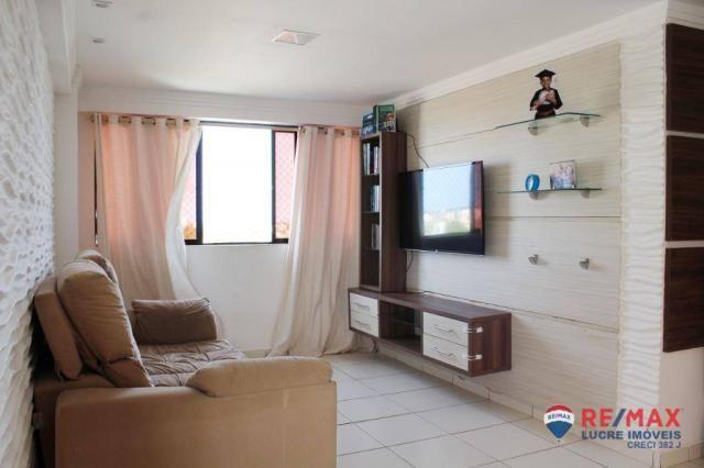 Apartamento com 3 dormitórios à venda, 68 m² por R$ 215.000,00 - Jardim Cidade Universitár - Foto 3
