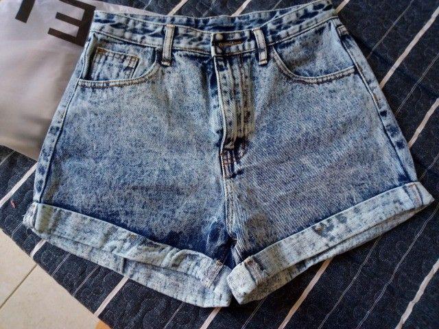 short novo jeans shein  - Foto 4