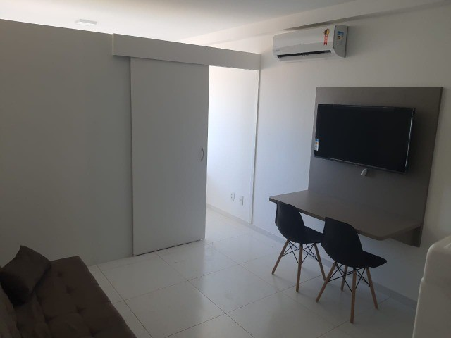 Flat com quarto separado na avenida!! - Foto 13