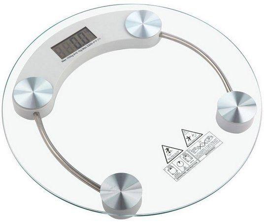 Promoção Balança de Vidro Cap. 180kg, Nova, Entregamos
