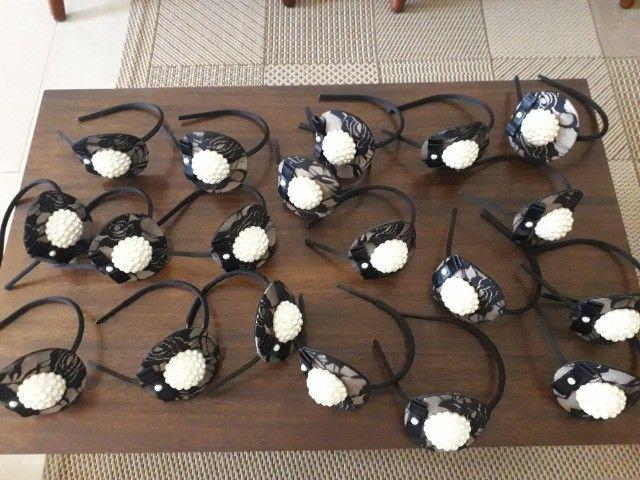 arquinhos de cabeça - decorado adulto/infantil - Foto 2