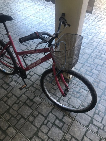 Bicicleta HOUSTON com cesta frontal  - Foto 3