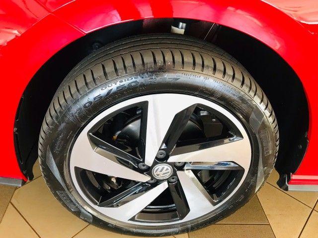 Polo GTS 1.4 TSI 2020 14.500 km único dono  - Foto 10