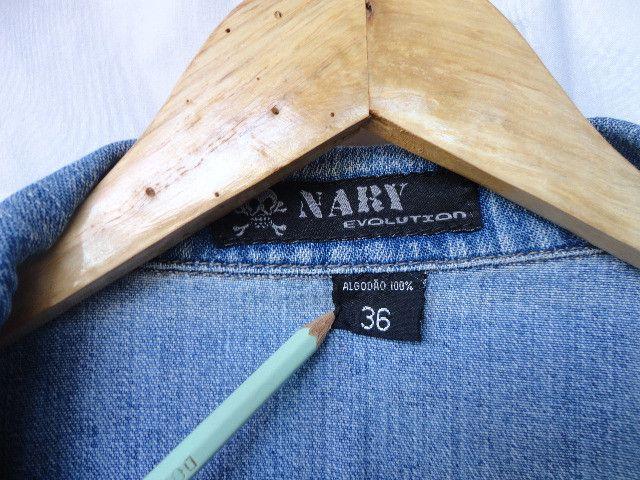 Jaqueta jeans masculina 36 - Foto 5