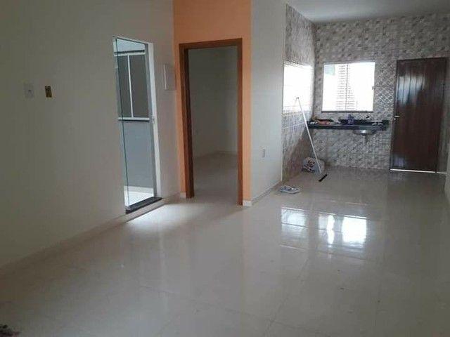 Casa nova com suite e porcelanado e churrasqueira  canelas vg - Foto 4
