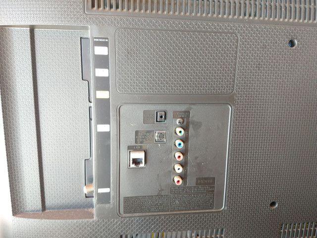 Tv Samsung un40j5300ag tela quebrada - Foto 3