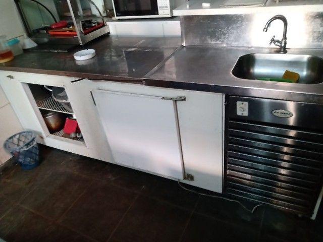 Balcão AG Rebelo com pia e geladeira de 2 portas  - Foto 2