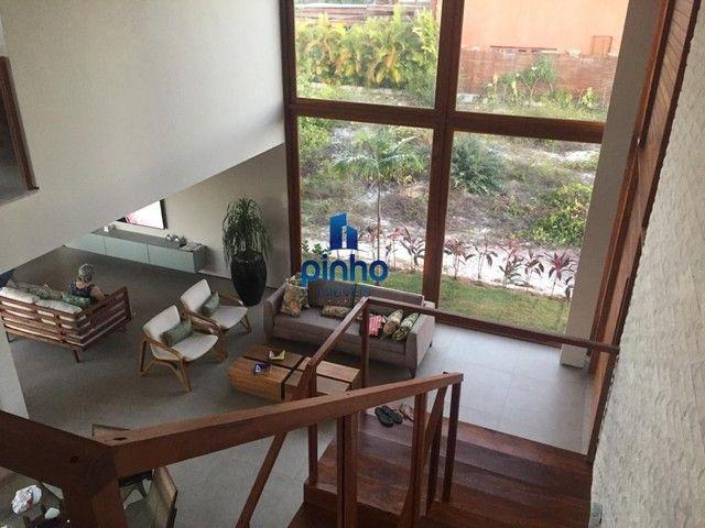 Casa Duplex para Venda em Mata de São João, PRAIA DO FORTE, 5 dormitórios, 5 suítes, 5 ban - Foto 14