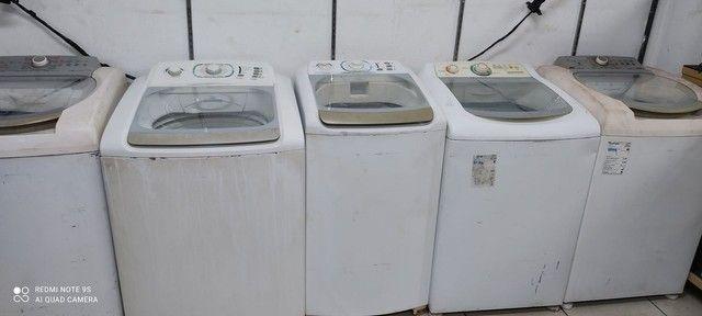 Maquina de lavar REVISADA tudo ok 3 meses de garantia  ( Entrego ) - Foto 2