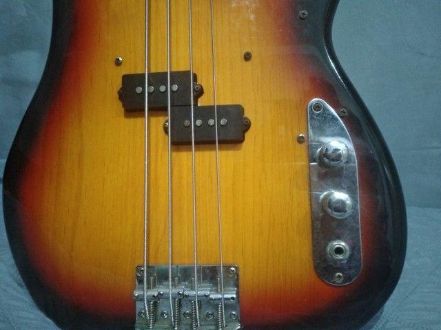 Baixo Passivo Tagima Woodstock TW-66 4 cordas usado - Foto 2