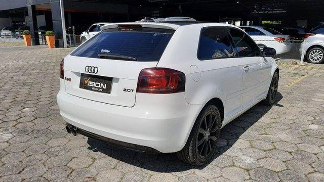 Audi A3 2.0 Tfsi Completo Automático 2011 Entrada + parcelas de R$899,96  - Foto 2