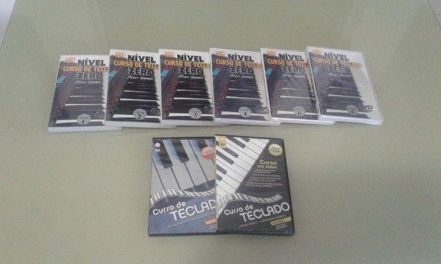 Curso de piano e teclado com 8 DVDs  - Foto 2
