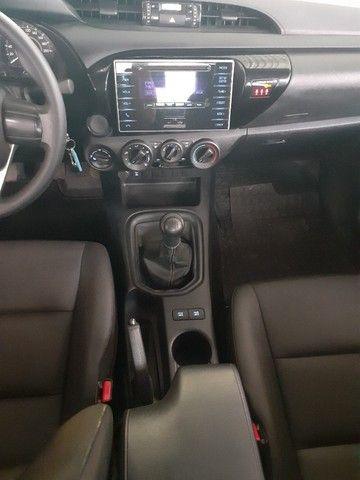 Toyota Hilux 2019 4x4 Diesel, Prata Liberada - Foto 10