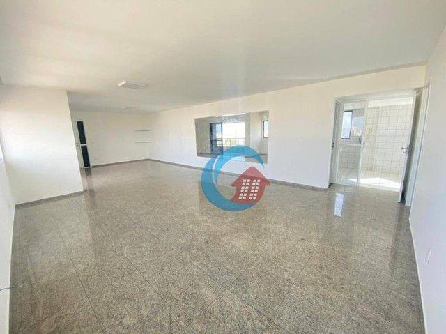 Apartamento com 4 quartos para alugar, 210 m² por R$ 6.500/mês - Casa Forte - Recife/PE - Foto 4