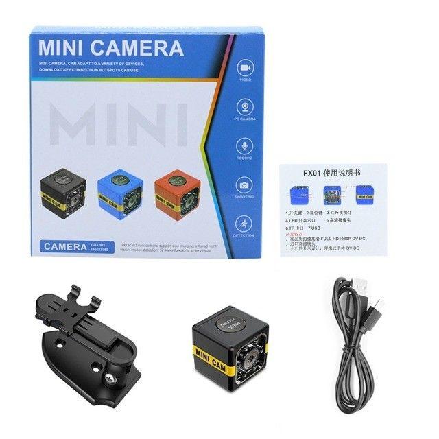 Mini Câmera de Segurança Full HD 1080P Com Visão Noturna - Foto 4