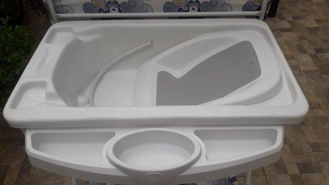 Banheira completa + kit 5 saquinhos de maternidade  - Foto 4