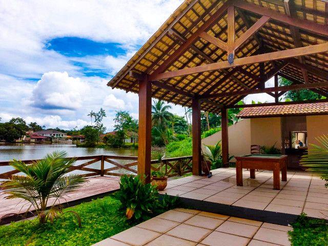 Casa Cond. Lago Azul - Beira do lago - Foto 17
