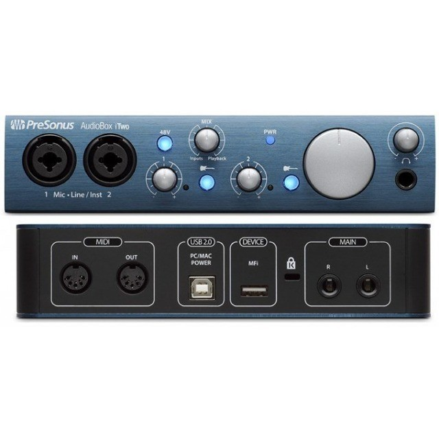 Interface de Áudio Presonus Itwo - Foto 6